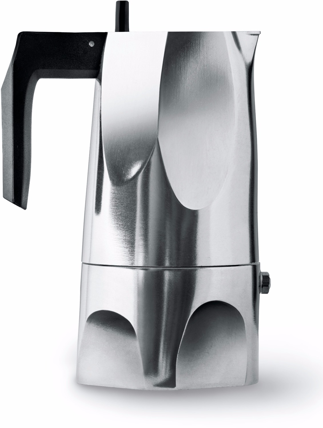 Alessi Ossidiana MT18 3 Cups Espresso Coffee Maker