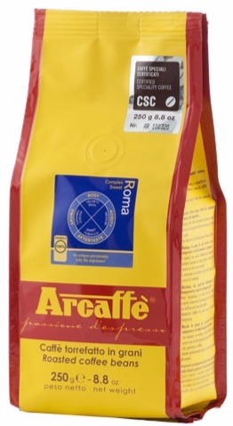 Arcaffè Roma coffee beans - Crema