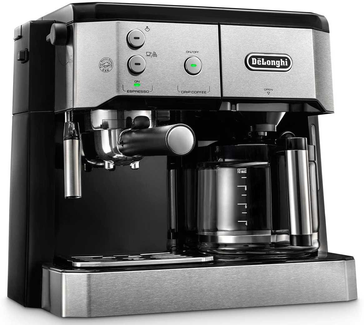 DeLonghi BCO421.S dual function coffee machine (espresso and drip ...