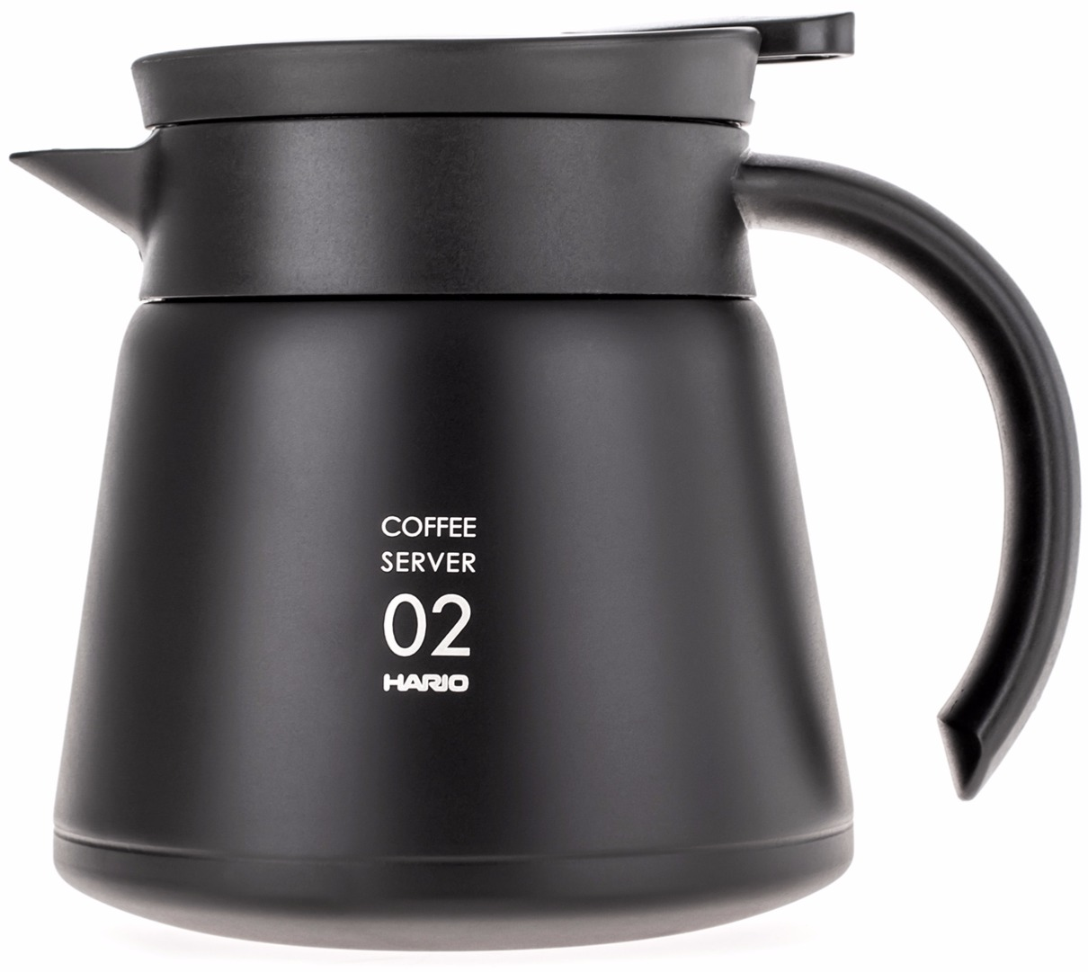 Hario V60 02 Insulated Stainless Steel Server 600 Ml Black