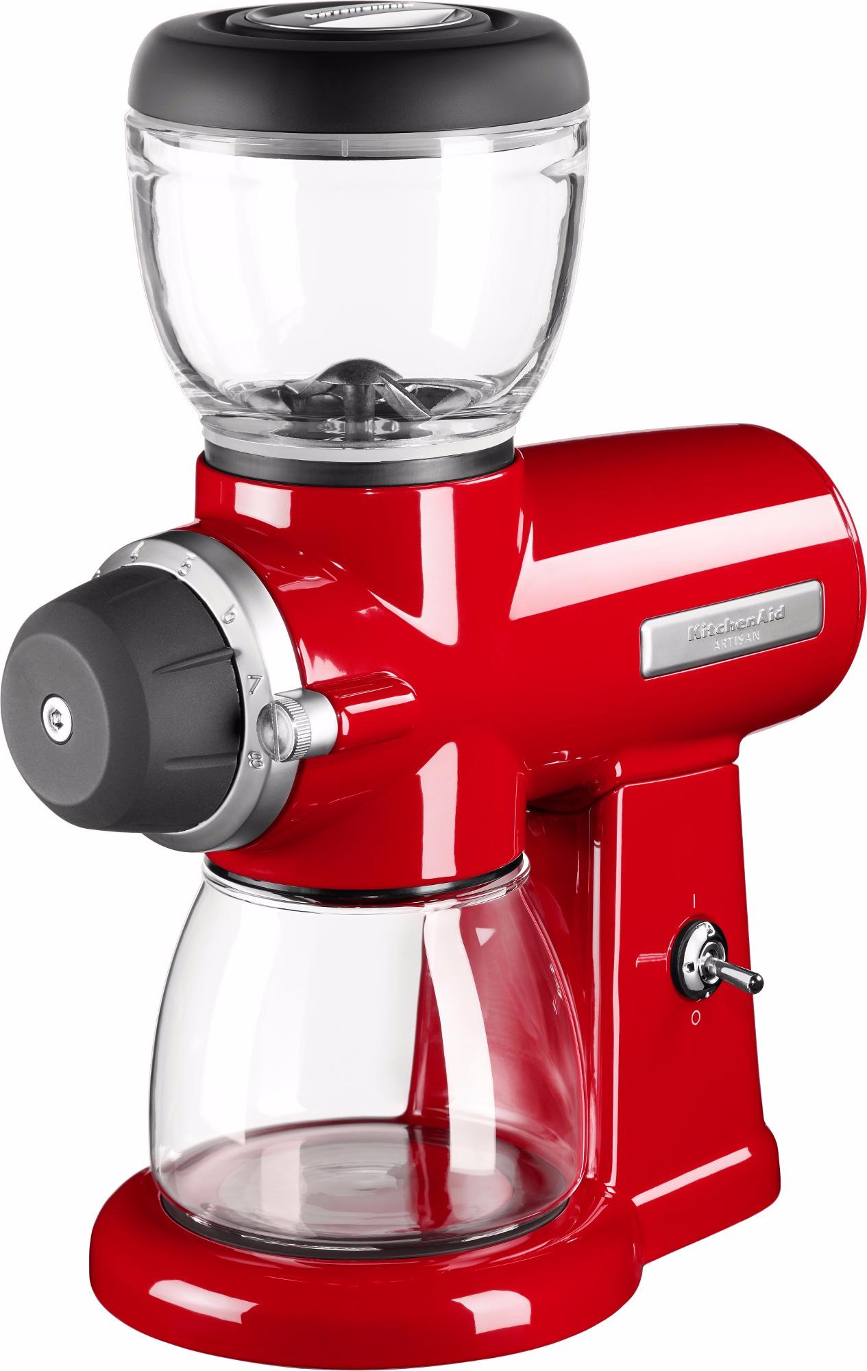 Kitchenaid Artisan 702eer Burr Coffee Grinder Empire Red