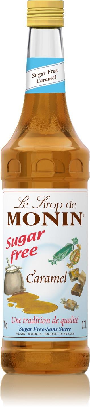 Monin Sugar Free Caramel Syrup 700 Ml Crema