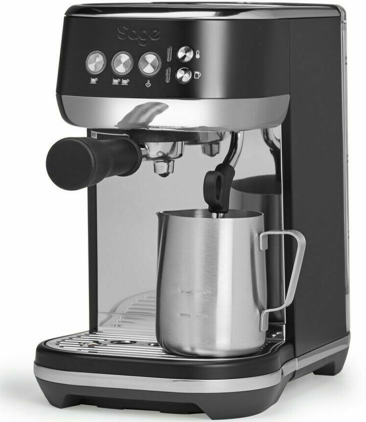 Sage The Bambino Plus Espresso Coffee Maker Black Truffle