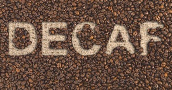 Caffeine free coffee - Decaf