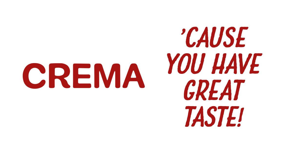 Coffee from Crema