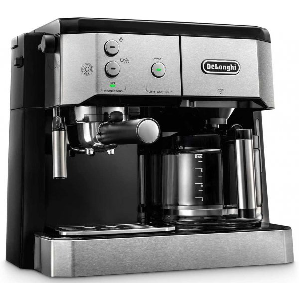 DeLonghi BCO421.S dual function coffee machine (espresso ...