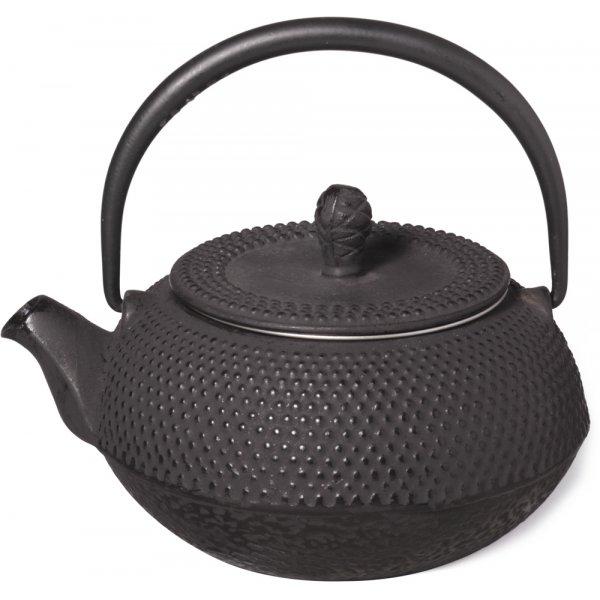 Shamila Sakai Cast Iron Teapot 0 3 Litres Crema