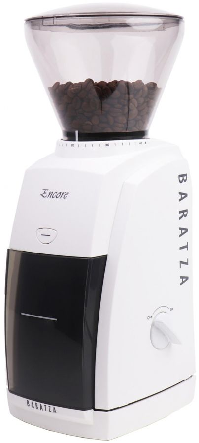 Baratza Encore Coffee Grinder, White