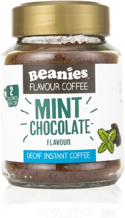 Beanies Decaf Mint Chocolate 50 g Flavoured Instant Coffee 50 g