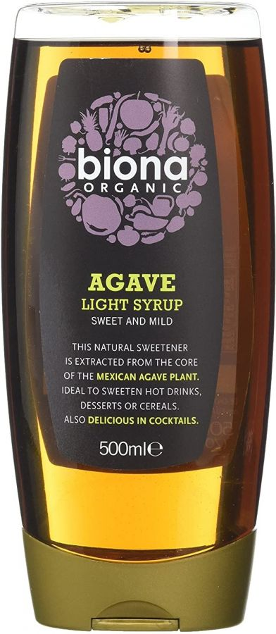Biona Organic Agave Light Syrup, 500 ml