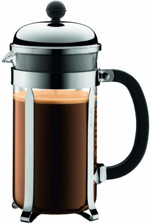 Bodum Chambord 8 Cup French Press Coffee Maker, PC Beaker