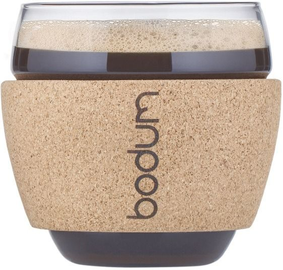 Bodum Pavina Glass with Cork Band 350 ml, 2 pcs
