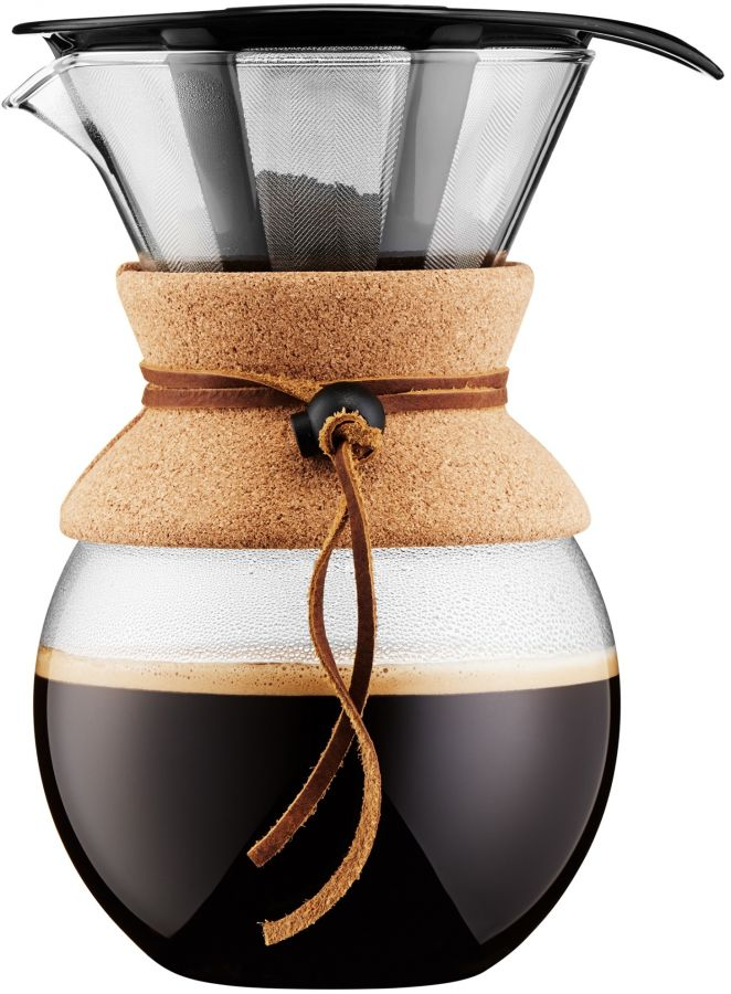 Bodum Pour Over 8 Cup Coffee Maker with Filter 1000 ml