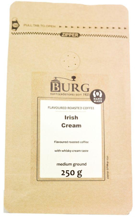 Burg Flavoured Coffee, Irish Cream 250 g