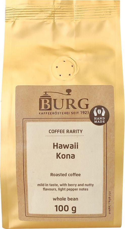 Burg Hawaii Kona 100 g Coffee Beans