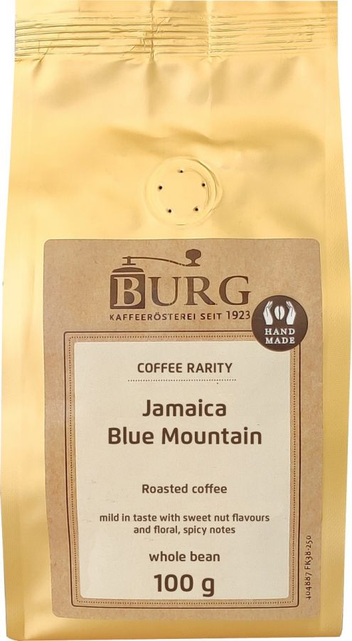 Burg Jamaica Blue Mountain 100 g Coffee Beans