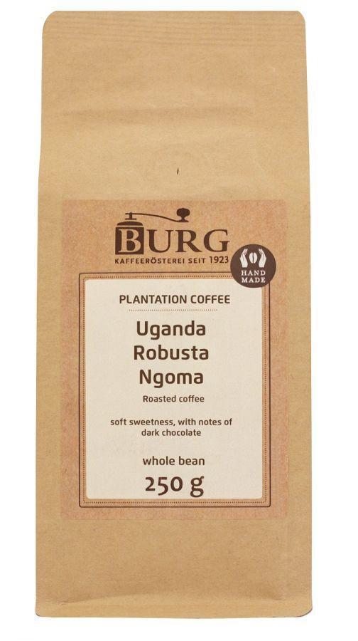 Burg Uganda Robusta Ngoma 250 g Coffee Beans