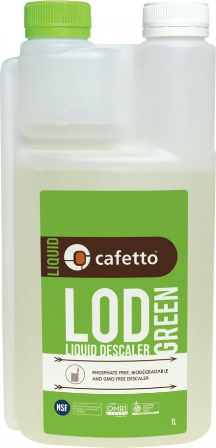 Cafetto Lod Green Organic Professional Descaler 1 l