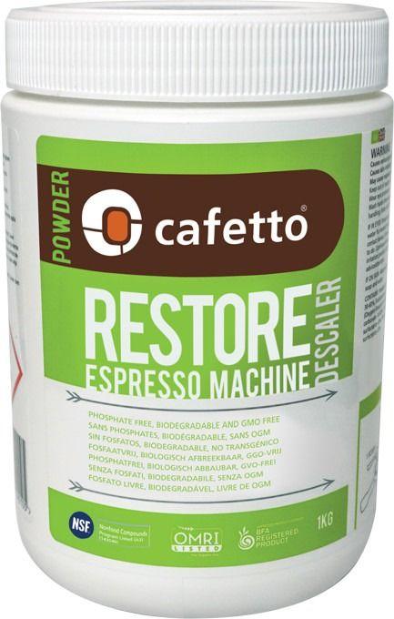 Cafetto Restore Organic Descaling Powder 1 kg