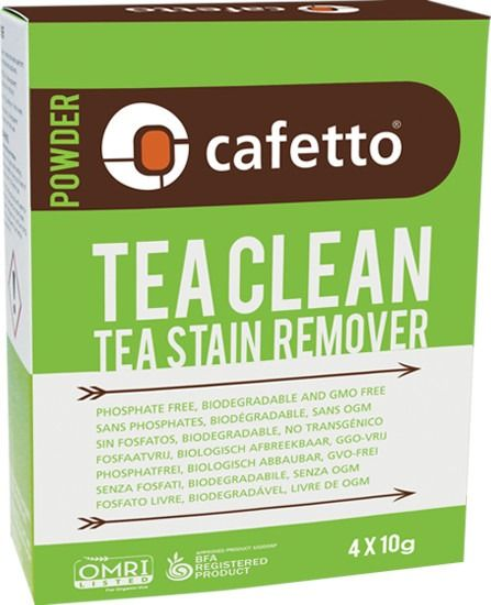 Cafetto Tea Clean Organic Cleaner 4 x 10 g