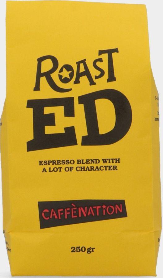 Caffènation Roast Ed Coffee Beans 250 g