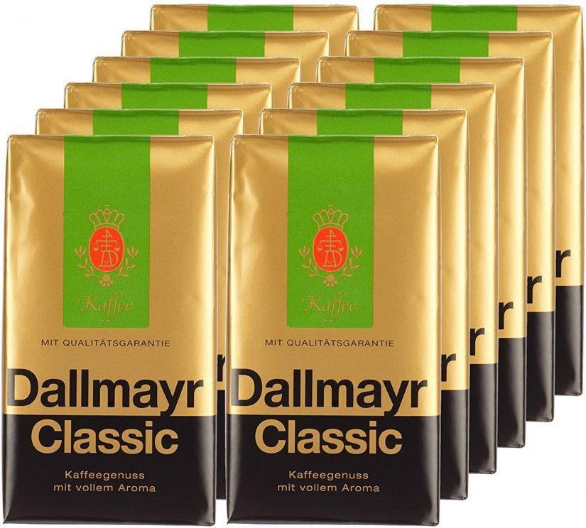 Dallmayr Classic Wholesale Unit 12 x 500 g Ground Coffee