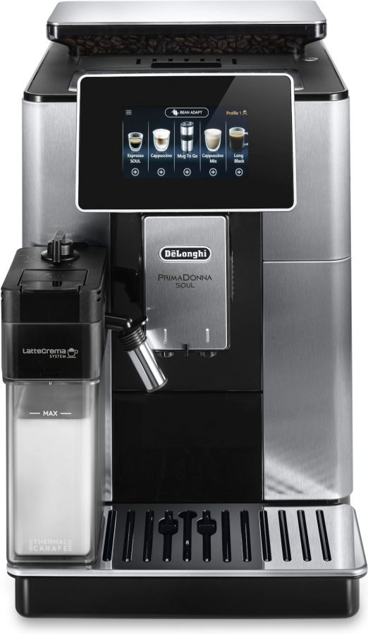 DeLonghi ECAM610.75.MB PrimaDonna Soul Automatic Coffee Machine