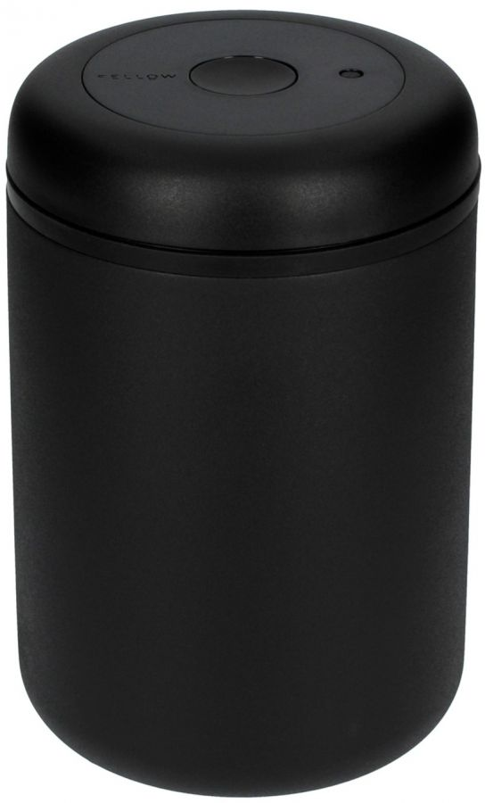 Fellow Atmos Vacuum Canister 1200 ml, Matte Black Steel