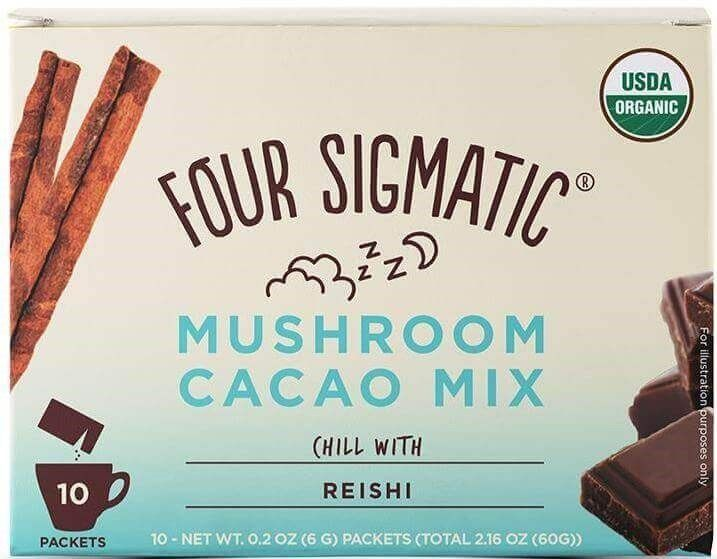 Four Sigmatic Mushroom Cacao Mix With Reishi, 10 Packets