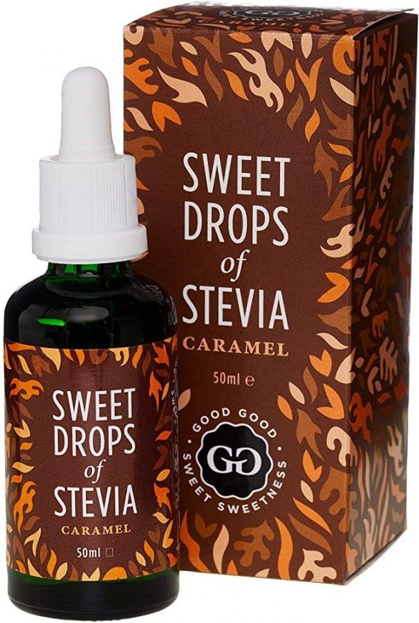 Good Good Sweet Drops Of Stevia Sweetener, Caramel 50 ml