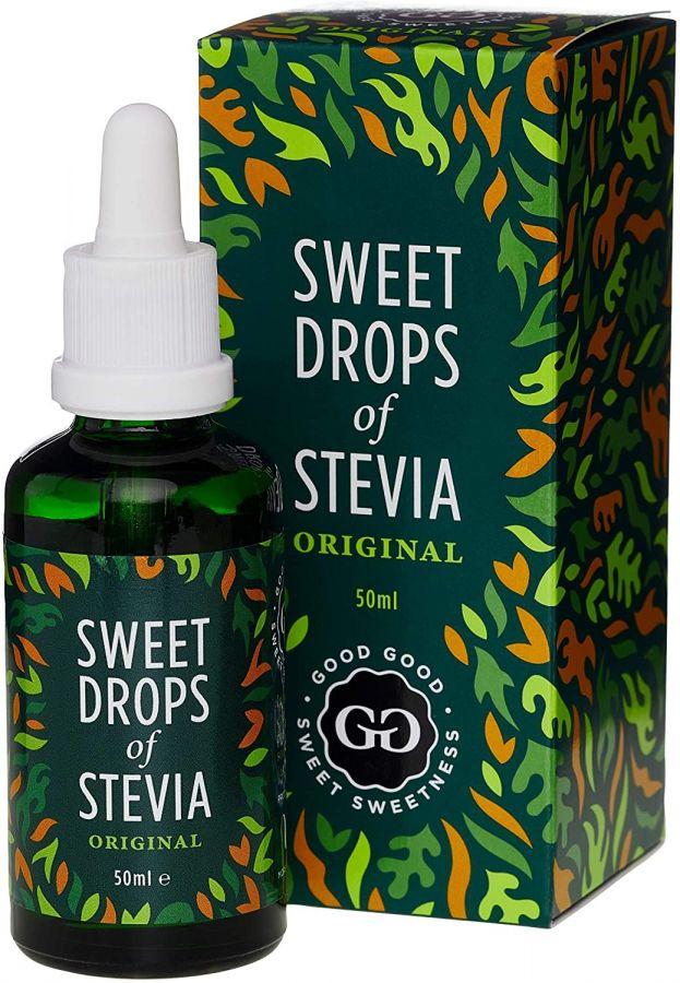 Good Good Sweet Drops Of Stevia Sweetener, Natural 50 ml