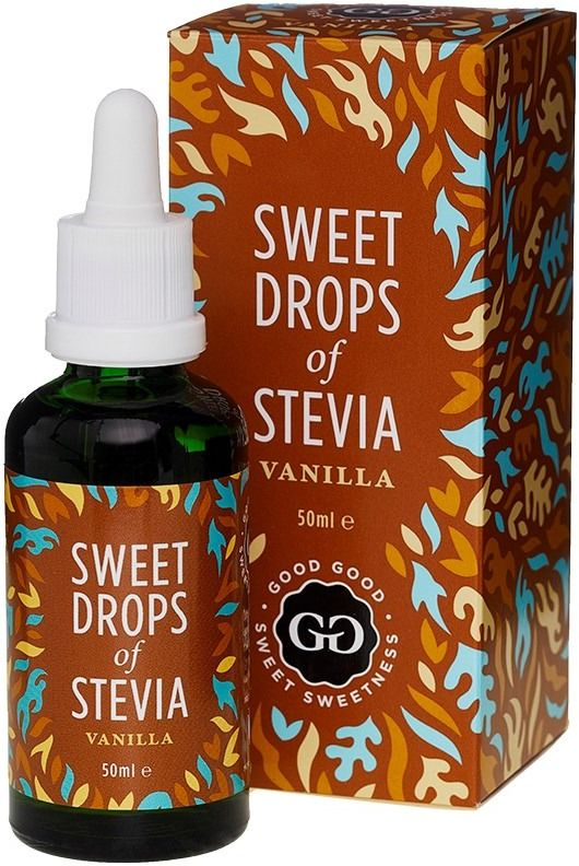 Good Good Sweet Drops Of Stevia Sweetener, Vanilla 50 ml