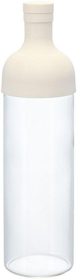 Hario Filter-in Bottle Cold Brew Tea Bottle 750 ml, White