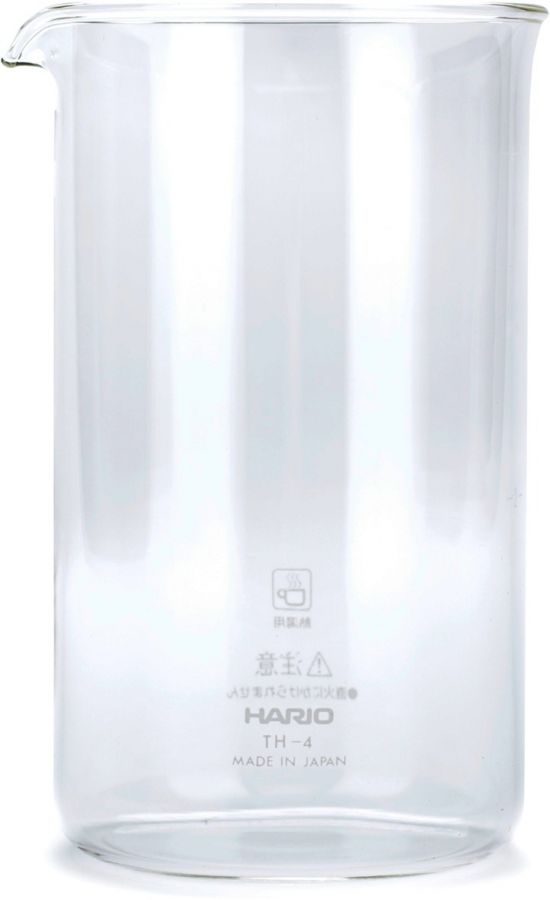 Hario TH-4 Spare Glass for French Press, 4 Cups