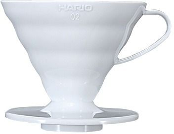 Hario V60 Ceramic Dripper Size 02, White
