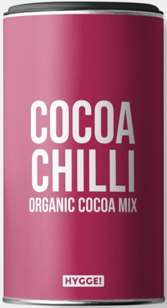 Hygge Organic Cocoa Chilli Drinking Powder 250 g
