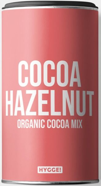 Hygge Organic Cocoa Hazelnut Drinking Powder 250 g