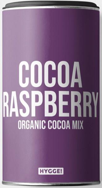 Hygge Organic Cocoa Raspberry Drinking Powder 250 g