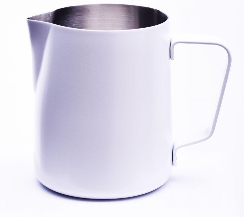 JoeFrex Powder Coated Milk Pitcher 590 ml, White