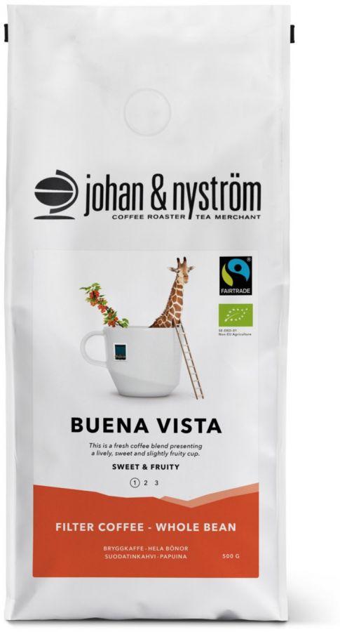 Johan & Nyström Buena Vista 500 g Coffee Beans