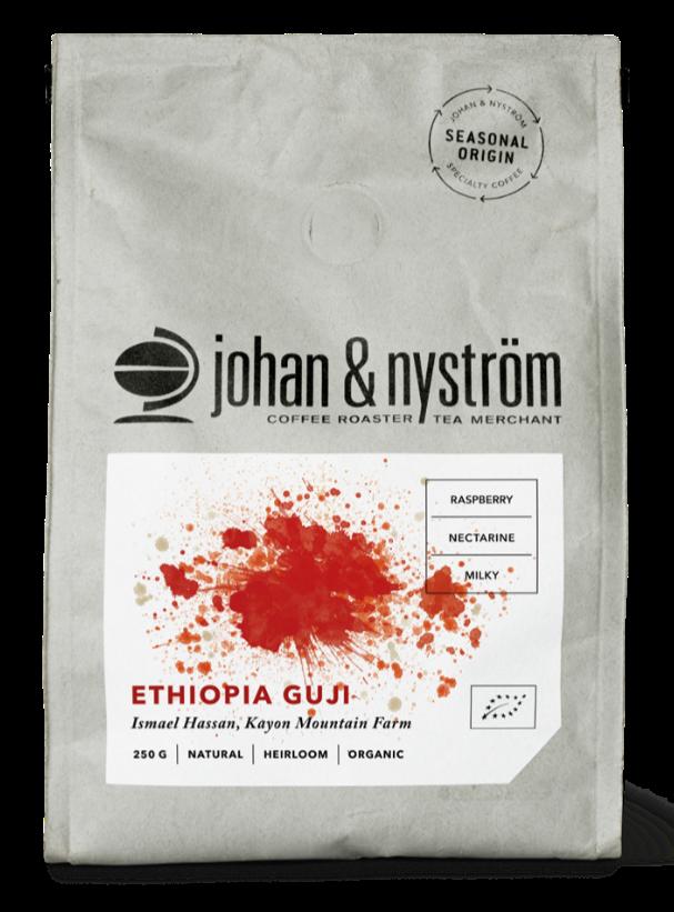 Johan & Nyström Ethiopia Guji 250 g Coffee Beans
