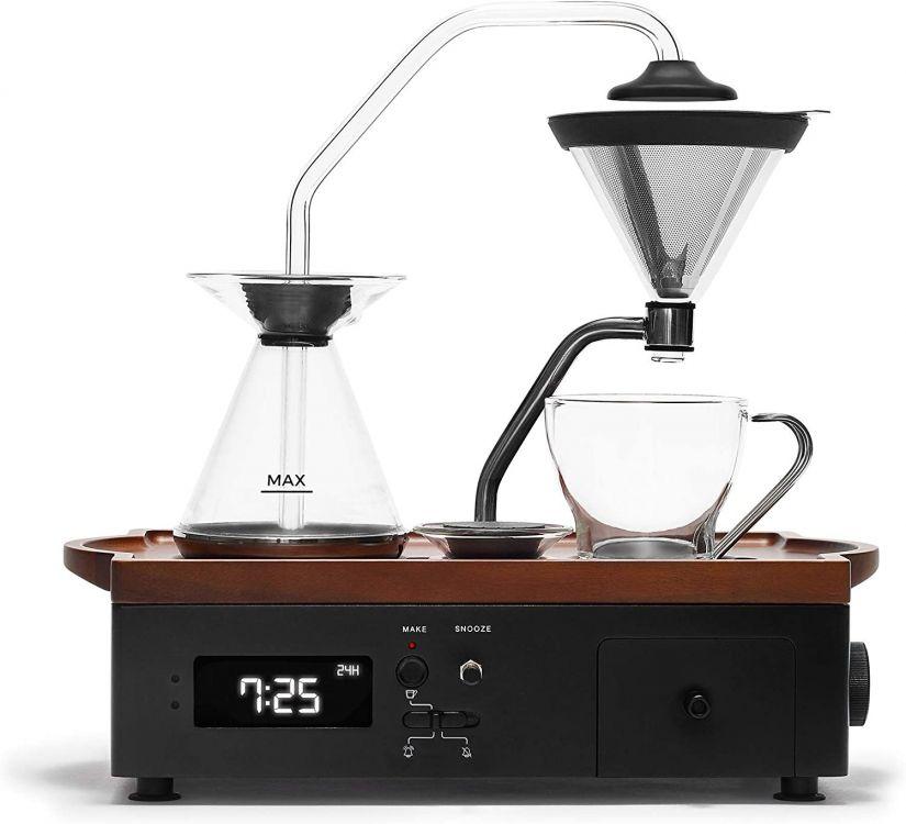 Joy Resolve Barisieur Coffee & Tea Alarm Clock, Black
