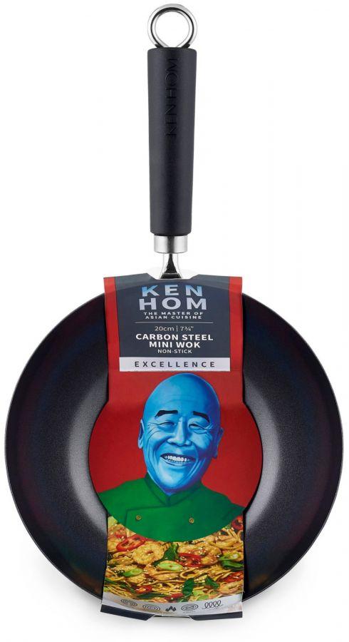 Ken Hom Excellence Non-Stick Wok 20 cm