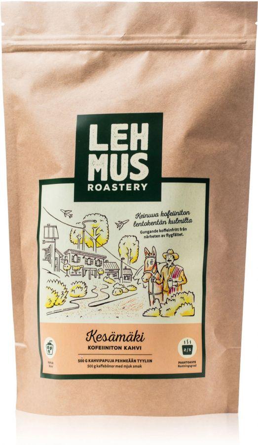 Lehmus Roastery Kesämäki Decaf Coffee Beans 220 g