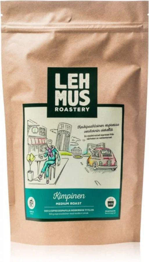 Lehmus Roastery Kimpinen Espresso Coffee Beans 220 g