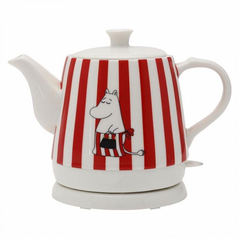 Moomin ceramic electric kettle, Moominmamma