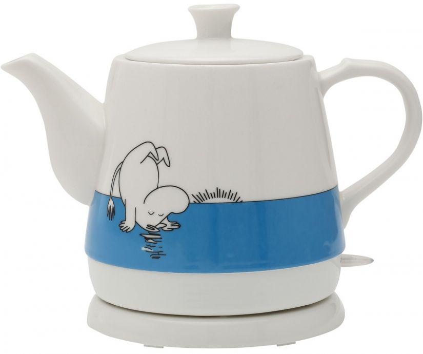 Moomin ceramic electric kettle, Moomintroll