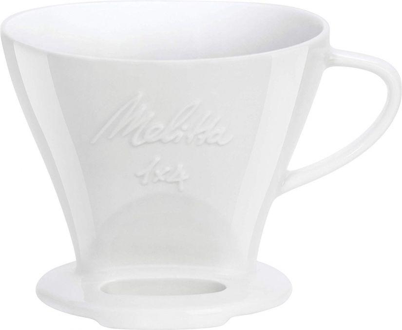 Melitta Porcelain Filter Cone 1x4, White