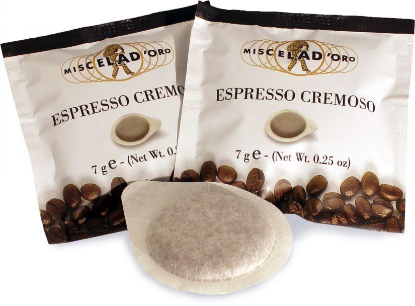 Miscela d'Oro Espresso Cremoso ese espresso pods 150 pcs