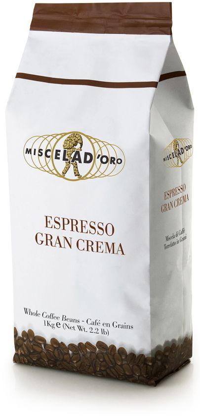 Miscela d'Oro Gran Crema 1 kg coffee beans